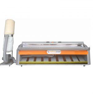 Fırçalı ve rulolu halı çırpma makinası