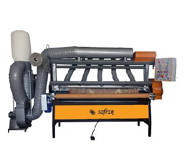 Halı Hav Alma ve Paketleme Makinası